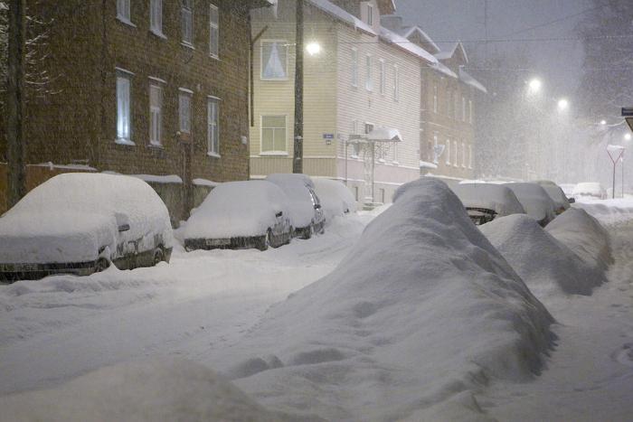 snow estonia tallinn