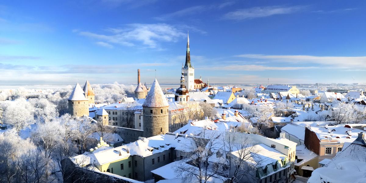 tallinn estonia winter