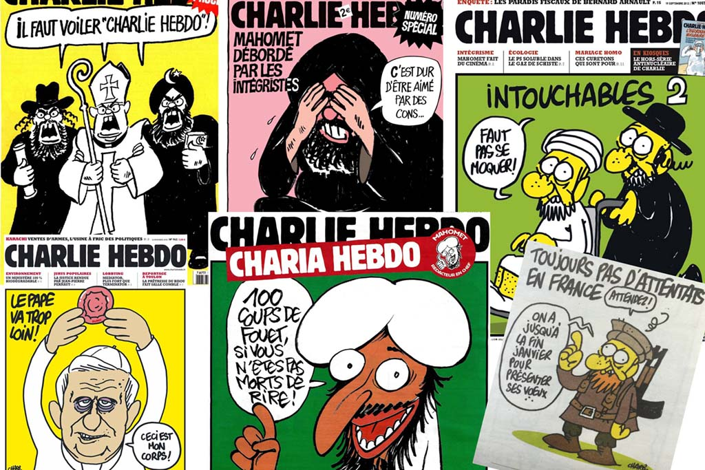 charlie hebdo illicit magazine freedom of speech