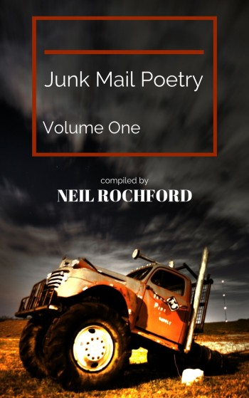 Junk mail poetry sign up book cover